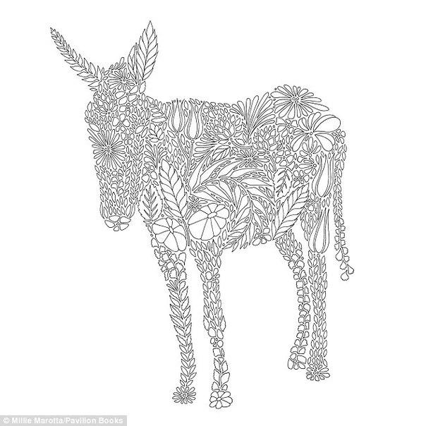 Лошадка из цветов