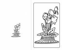Открытка с цветами