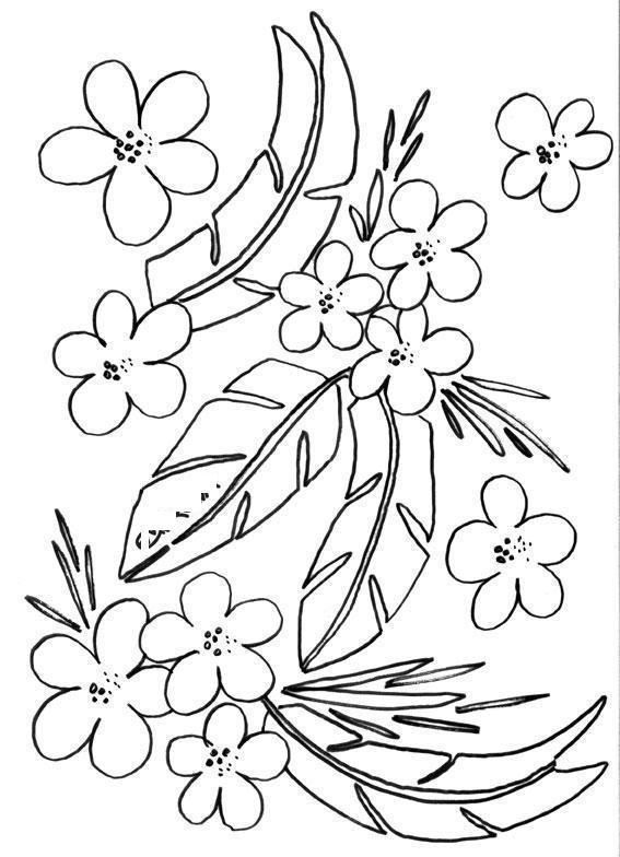 Цветы цветы раскраски онлайн бесплатно