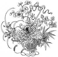 Сложные узоры Для детей онлайн раскраски с цветами