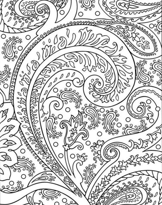 Сложные узоры из цветов