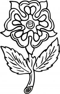 Лепестки цветов, ажурный цветок Раскраски цветы скачать