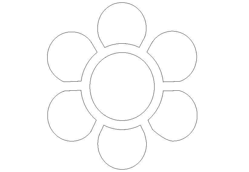 Цветы шаблоны картинки для детей