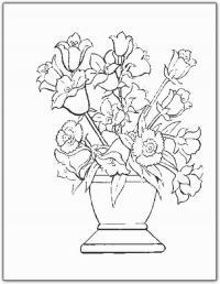 Лилии и нарциссы в вазе