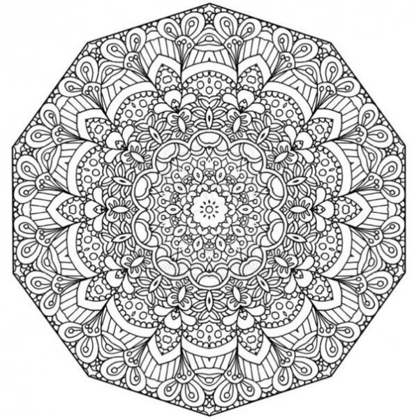 Раскраски антистресс, цветочные узоры Раскраски цветы хорошего качества