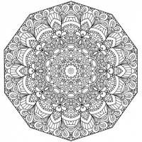 Раскраски антистресс, цветочные узоры Раскраски с цветами распечатать бесплатно