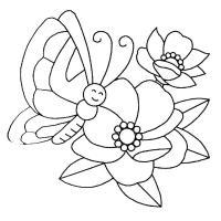 Для малышей кувшинки Фото раскраски цветы