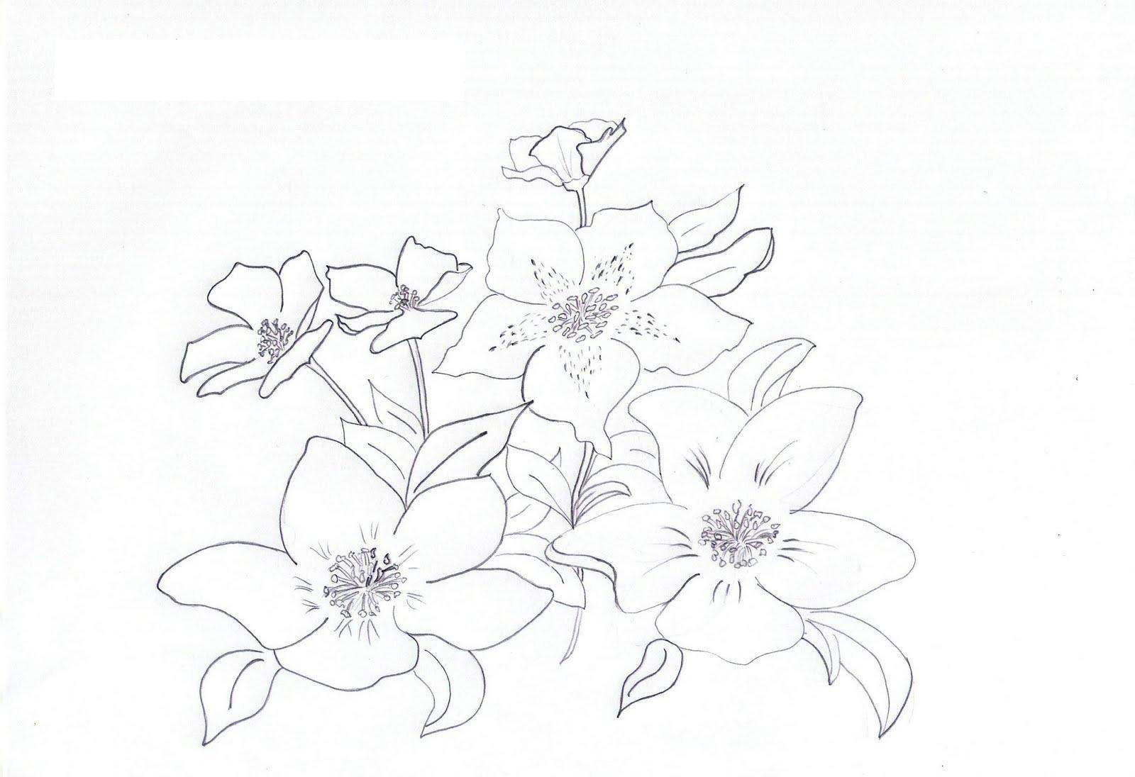 Распустившиеся цветы цветы раскраски онлайн бесплатно