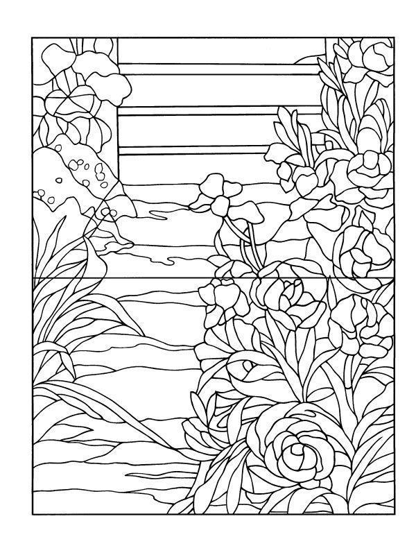 Пионы клумбе Раскраски цветы для девочек