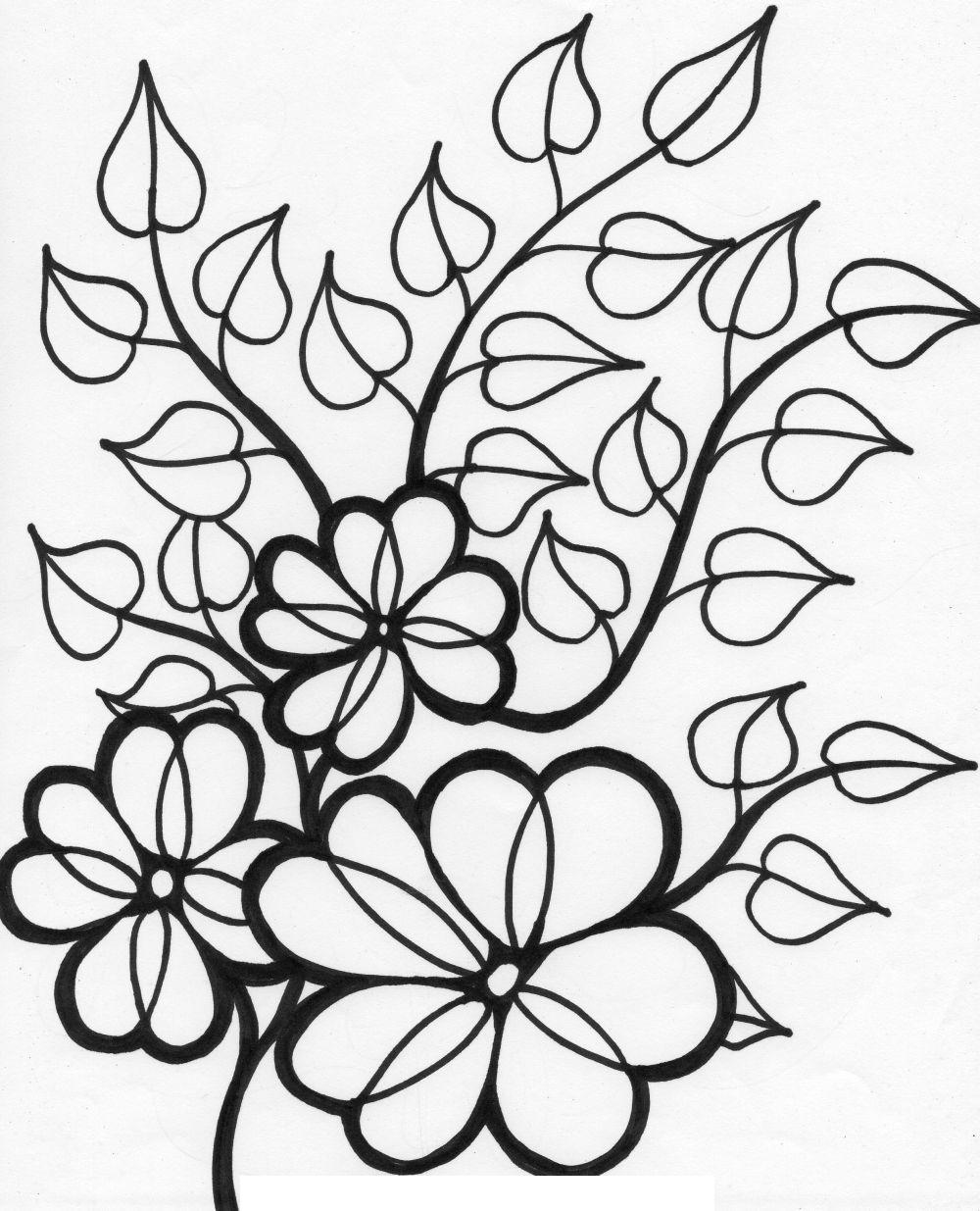 Цветы Фото раскраски цветы