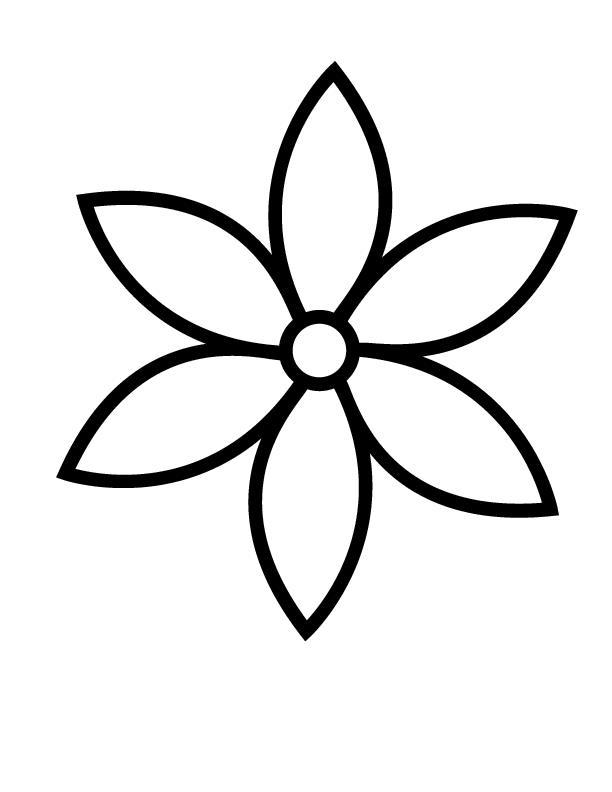 Для малышей Фото раскраски цветы