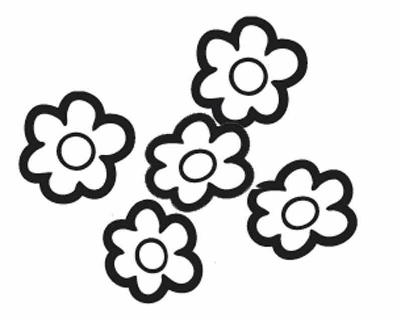 Цветы Распечатываем раскраски цветы бесплатно