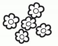 Цветы шаблоны трафареты
