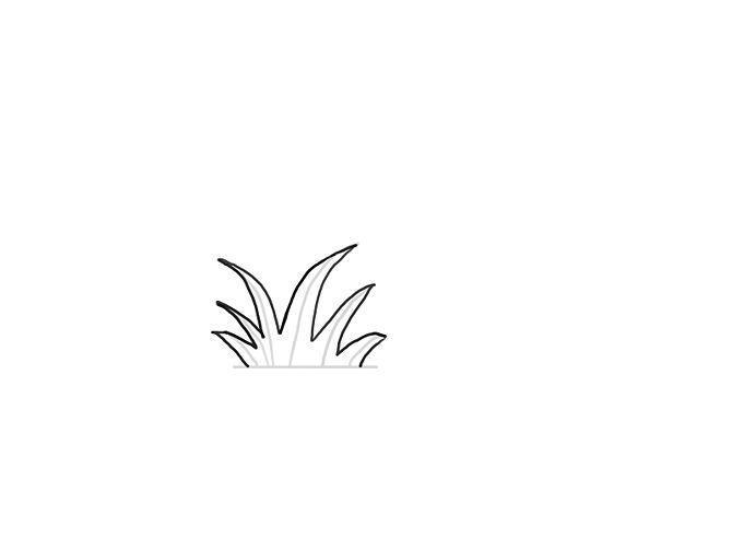 Как нарисовать траву Раскраски цветочки для детей бесплатно