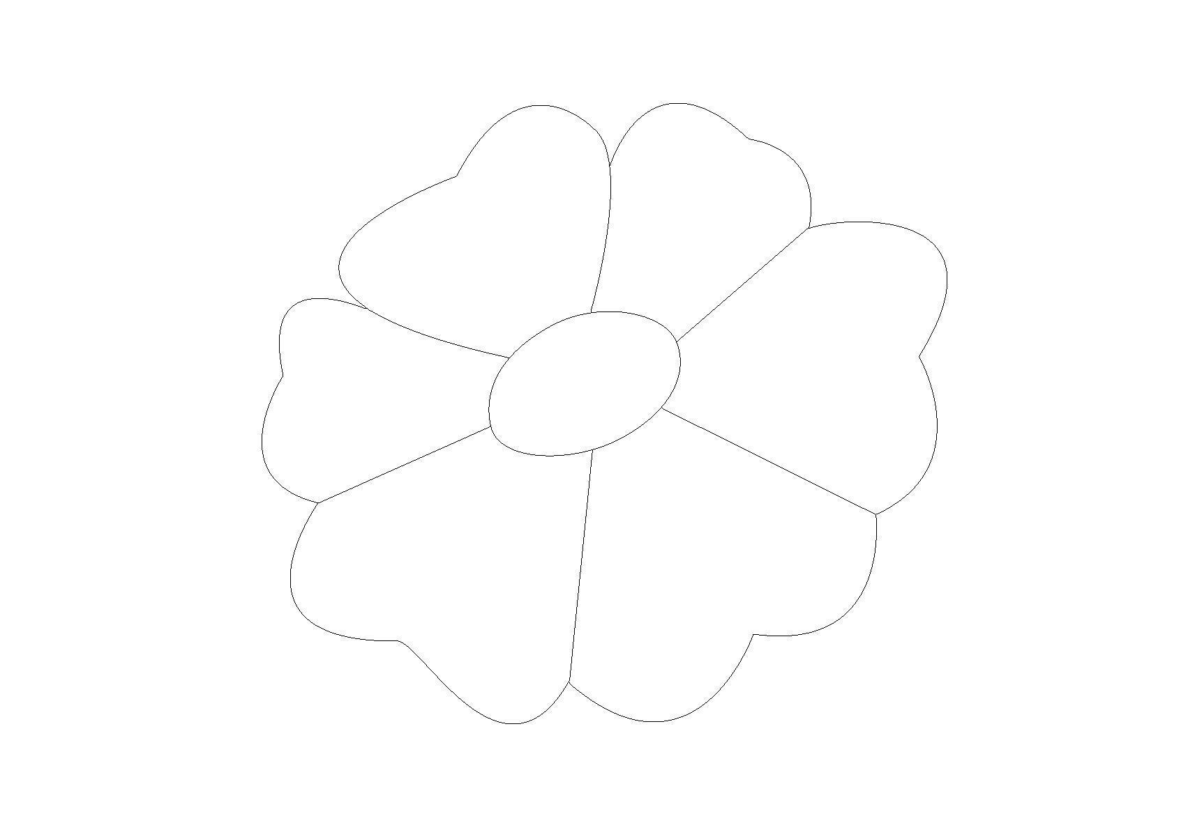Набор для поделок Контур цветка для поделок и аппликаций Раскраски цветы онлайн скачать и распечататьраскраски цветы