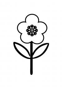 Для малышей цветок