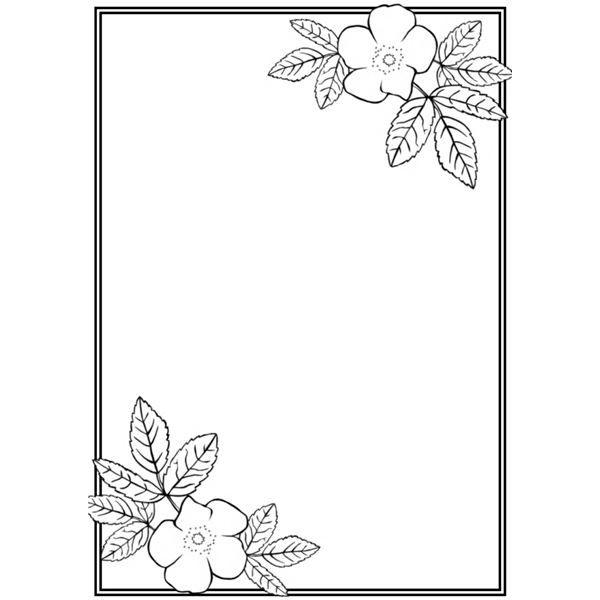 Рамки с цветами