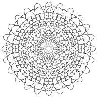 Сложные кружевные цветы