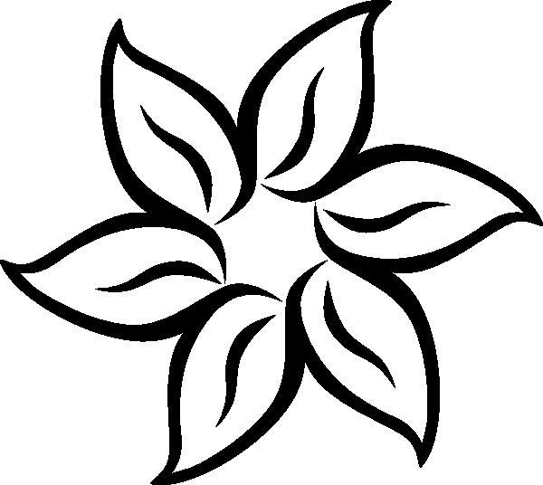 Цветок пять лепестков